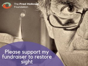 Wonder of Eyes Fred Hollows Fundraising Page