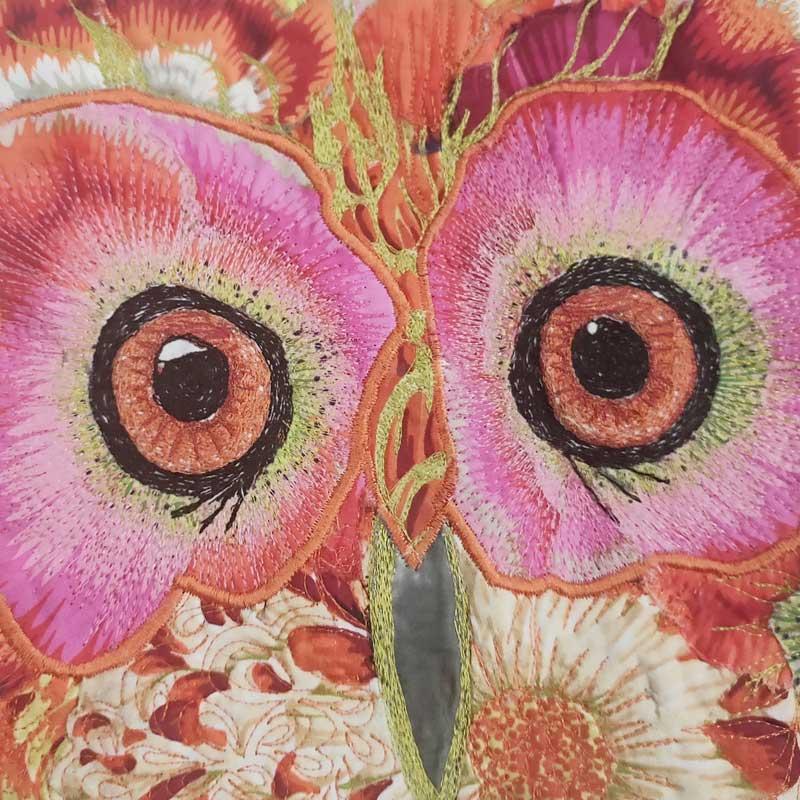 Liz Aitken: Powerful Owl