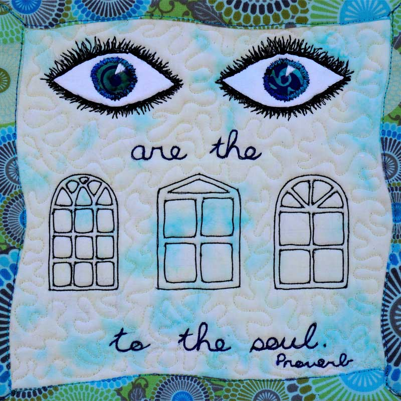Eyes-Windows to the Soul by Denise Mallon